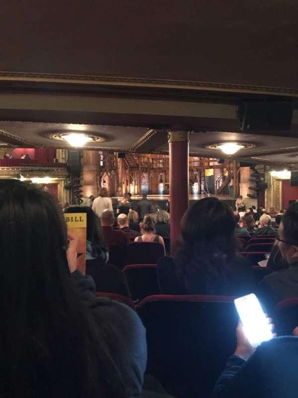 CIBC Theatre, vak: Orchestra R, rij: Z, stoel: 6