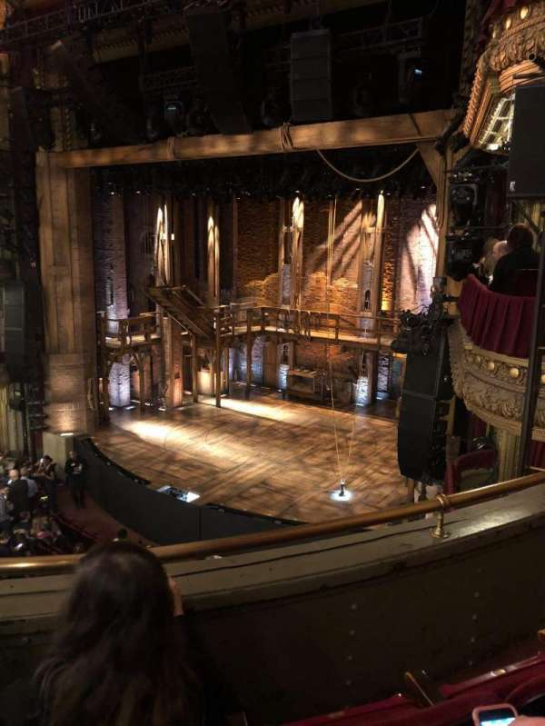 CIBC Theatre, vak: Mezzanine R, rij: C, stoel: 16