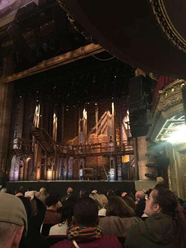 CIBC Theatre, vak: Orchestra R, rij: N, stoel: 18
