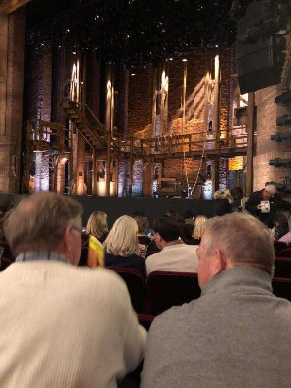 CIBC Theatre, vak: Orchestra, rij: J, stoel: 16