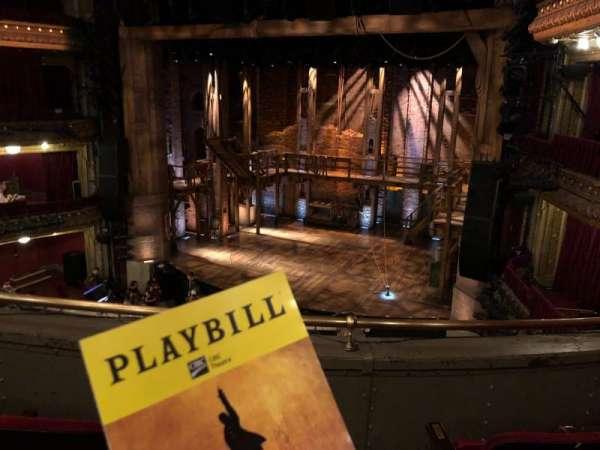 CIBC Theatre, vak: Mezzanine, rij: C, stoel: 2