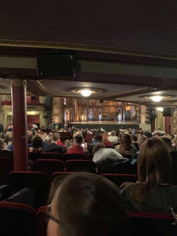 CIBC Theatre, vak: Orchestra Right, rij: Y, stoel: 12