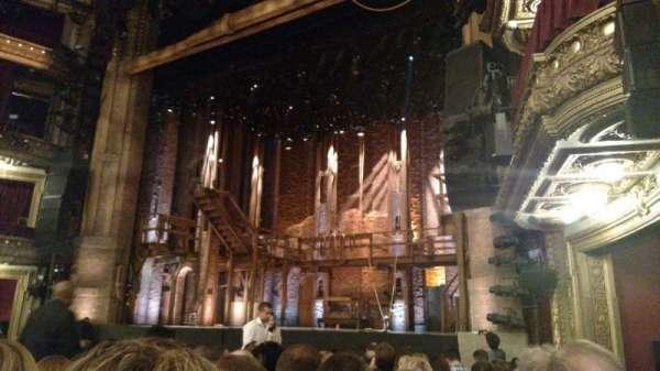 CIBC Theatre, vak: Orchestra R, rij: M, stoel: 18