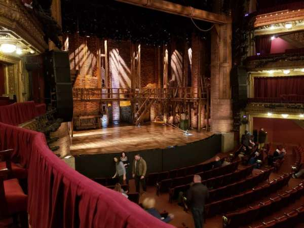 CIBC Theatre, vak: DRCL, rij: A, stoel: 11