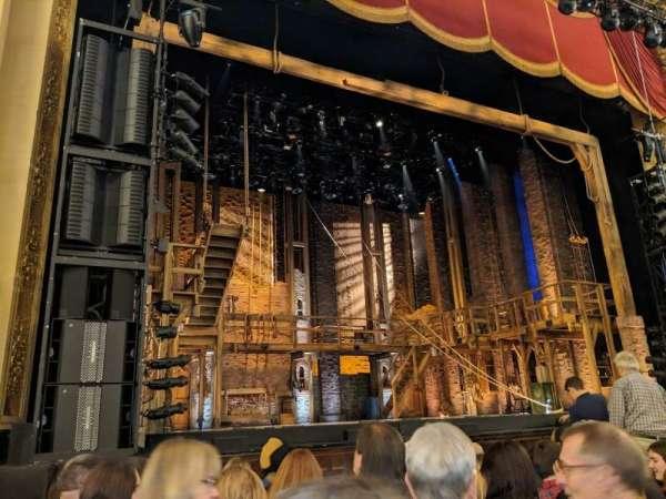 Boston Opera House, vak: orchlc, rij: c, stoel: 13