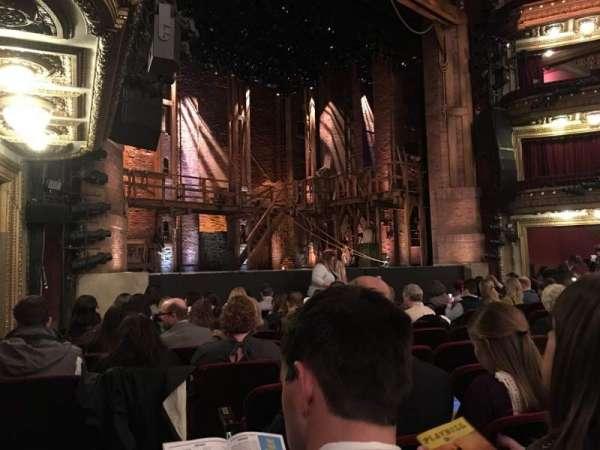CIBC Theatre, vak: Orch, rij: L, stoel: 21