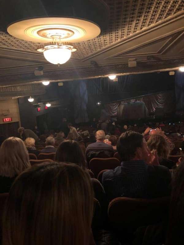 Majestic Theatre, vak: Orchestra, rij: W, stoel: 7