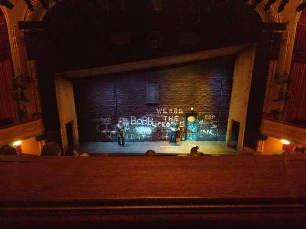 Bernard B. Jacobs Theatre, vak: Mezzanine, rij: E, stoel: 108