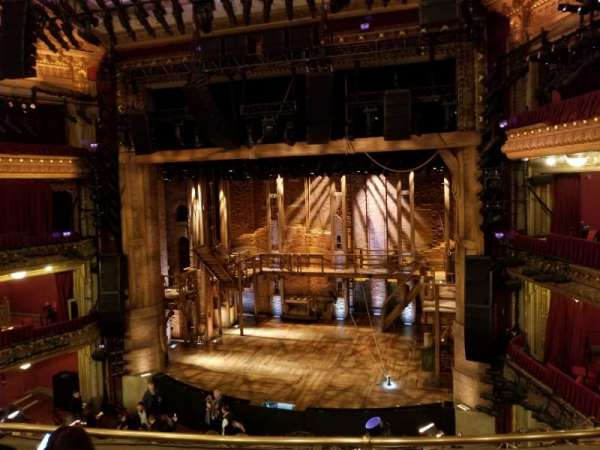 CIBC Theatre, vak: Mezzanine RC, rij: D, stoel: 318