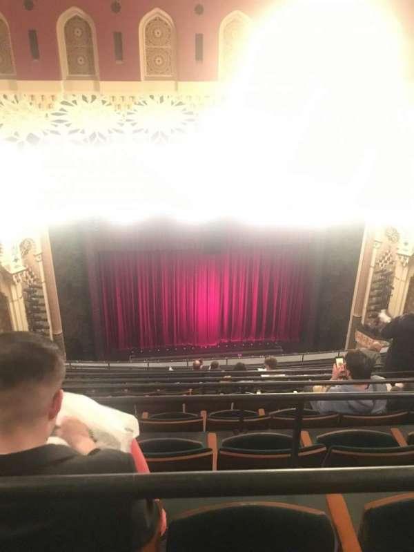 New York City Center, vak: Balcony, rij: M, stoel: 122