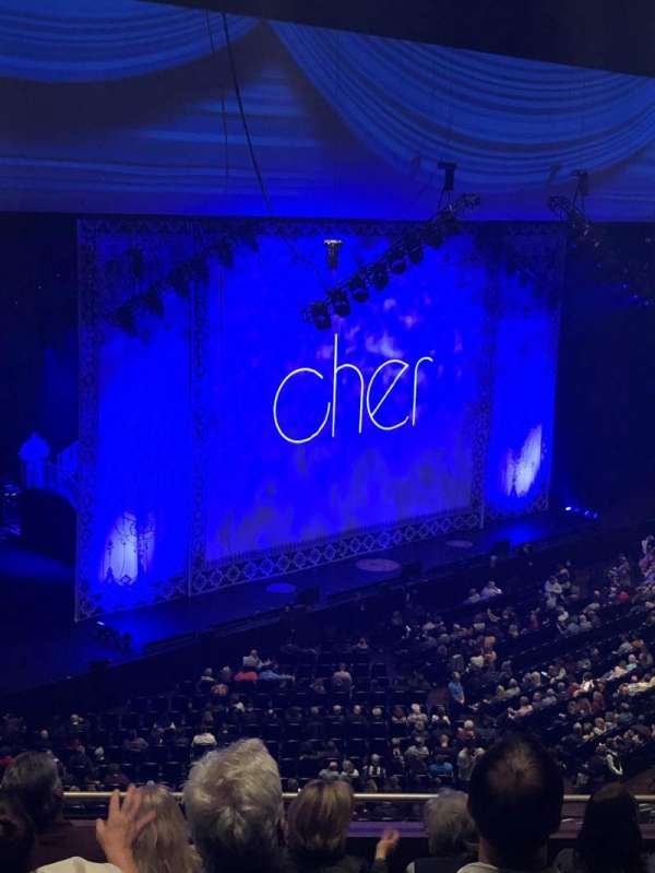 Park Theater at Park MGM, vak: 406, rij: F, stoel: 7