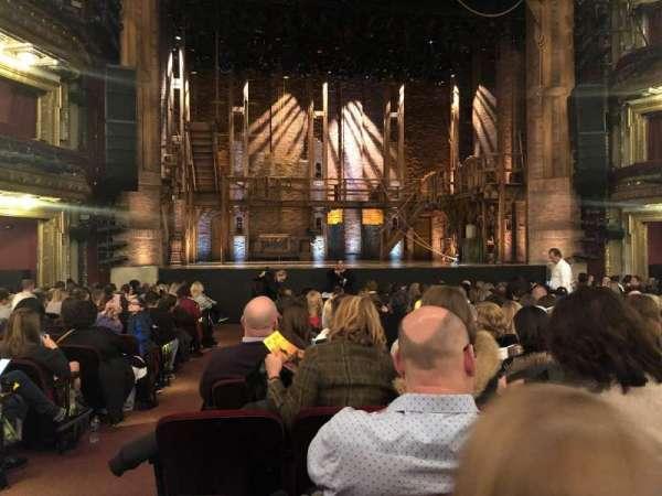 CIBC Theatre, vak: Orchestra C, rij: R, stoel: 102