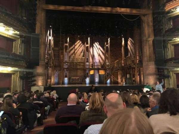 CIBC Theatre, vak: Orchestra C, rij: R, stoel: 101