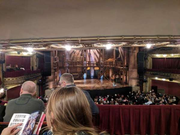 CIBC Theatre, vak: Dress Circle LC, rij: c, stoel: 221