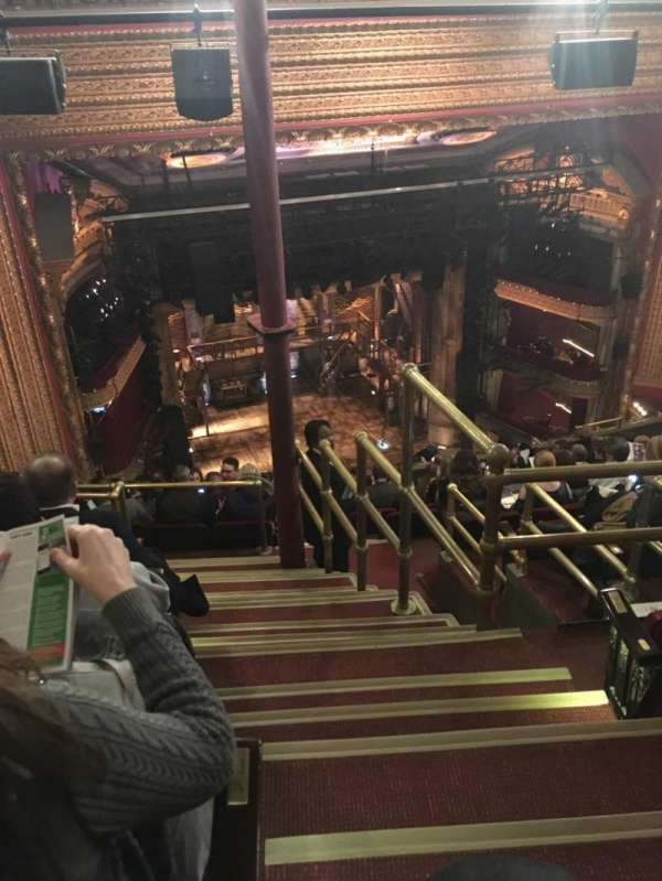CIBC Theatre, vak: Balcony L, rij: N, stoel: 1