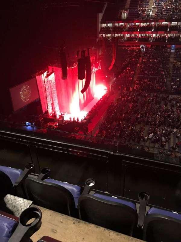 The O2 Arena, vak: 403, rij: C, stoel: 501