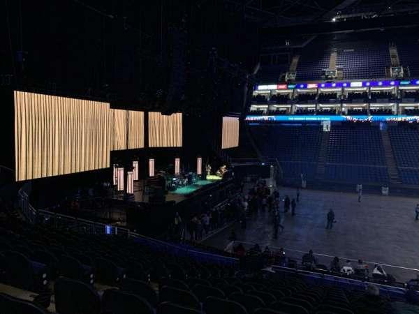 The O2 Arena, vak: 101, rij: X, stoel: 34