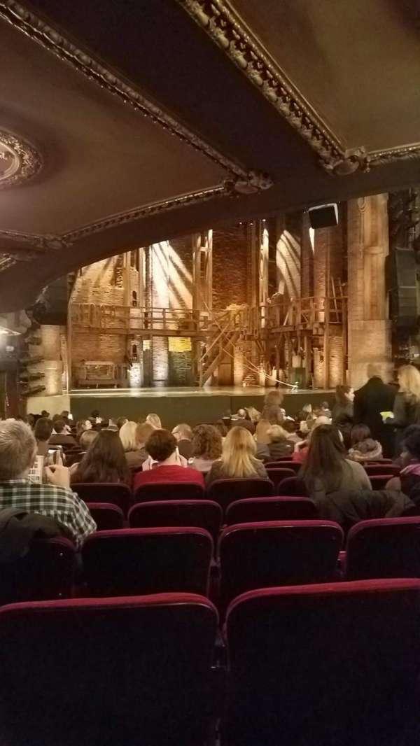 CIBC Theatre, vak: Orchestra, rij: U, stoel: 13