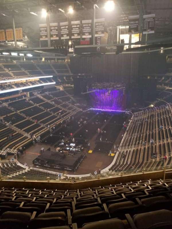 PPG Paints Arena, vak: 209, rij: K, stoel: 9