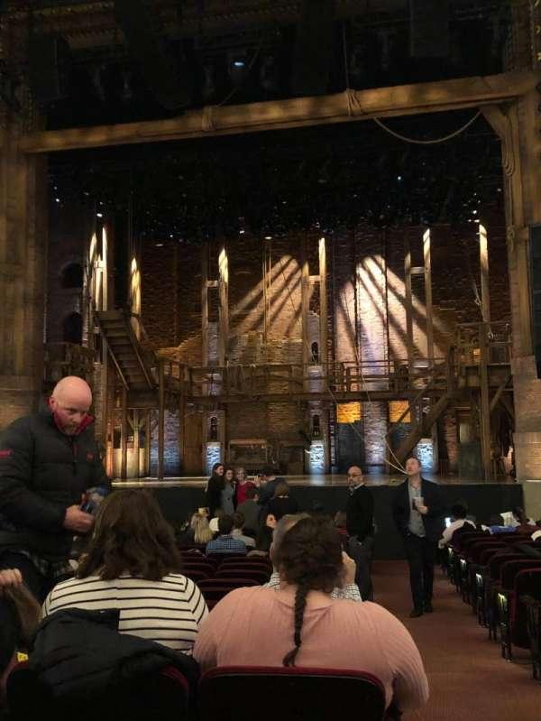CIBC Theatre, vak: Orchestra C, rij: T, stoel: 115