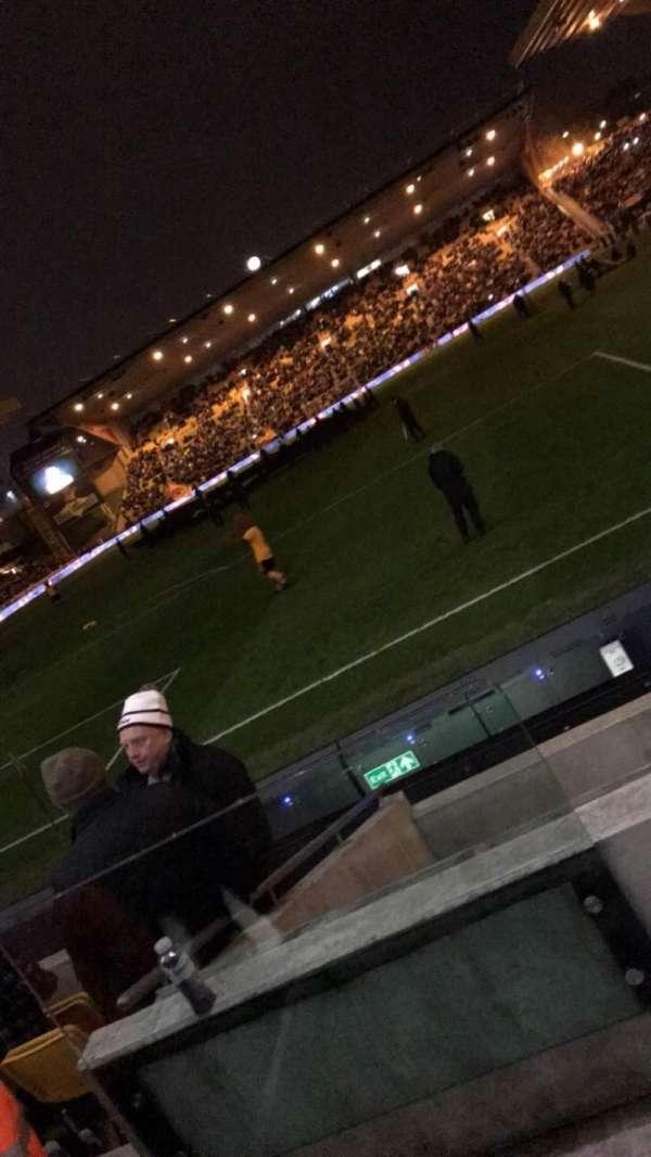 Molineux Stadium, vak: NL2, rij: G, stoel: 41