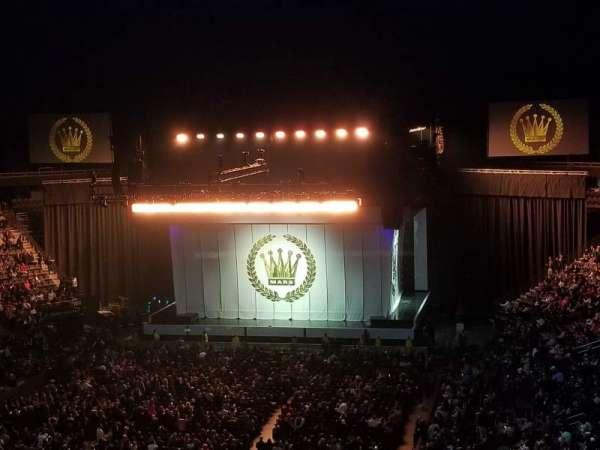 T-Mobile Arena, vak: 209, rij: B, stoel: 15