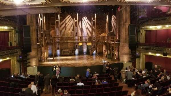 CIBC Theatre, vak: Dress Circle LC, rij: A, stoel: 202
