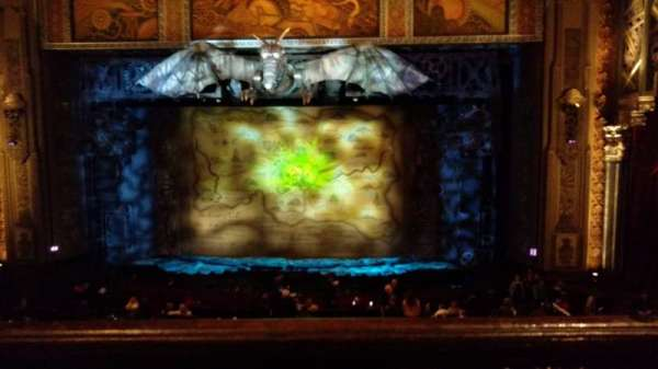 Hollywood Pantages Theatre, vak: MezzC, rij: A, stoel: 101