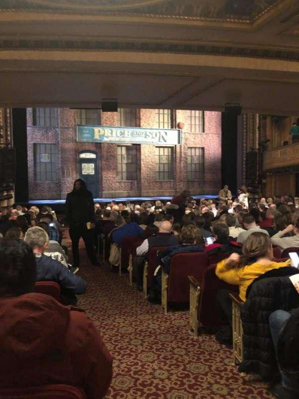 Al Hirschfeld Theatre, vak: ORCHL, rij: T, stoel: 1