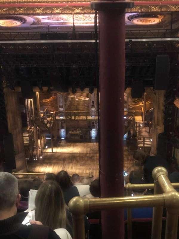CIBC Theatre, vak: Balcony RC, rij: K, stoel: 408