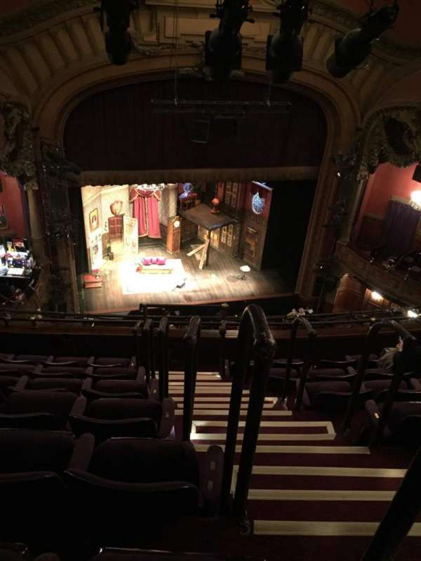 Lyceum Theatre (Broadway), vak: Balcony Left, rij: G, stoel: 1