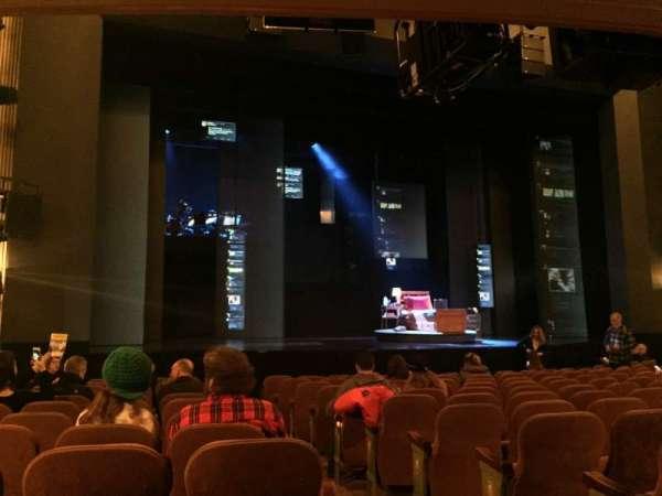 Music Box Theatre, vak: ORCHMI, rij: R, stoel: 1