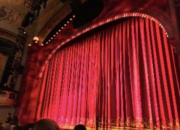 Shubert Theatre, vak: ORCHO, rij: G, stoel: 10