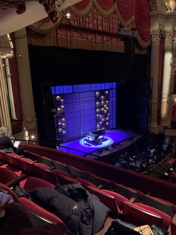 Academy of Music, vak: Balcony I, rij: B, stoel: 57