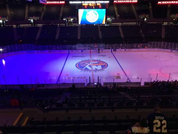 Nassau Veterans Memorial Coliseum, vak: 223, rij: 7, stoel: 11