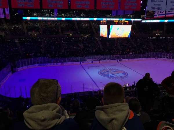 Nassau Veterans Memorial Coliseum, vak: 225, rij: 7, stoel: 6