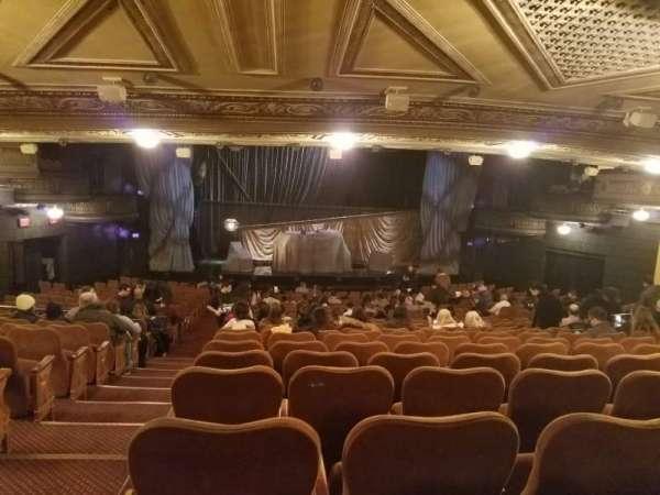 Majestic Theatre, vak: ORCHC, rij: V, stoel: 101