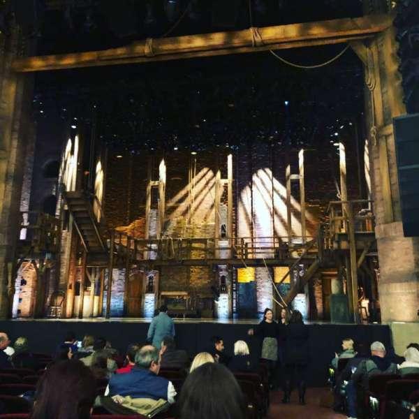 CIBC Theatre, vak: Orchestra C, rij: N, stoel: 114
