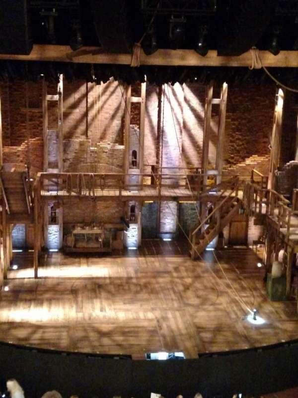 CIBC Theatre, vak: Mezzanine LC, rij: F, stoel: 307 and 309