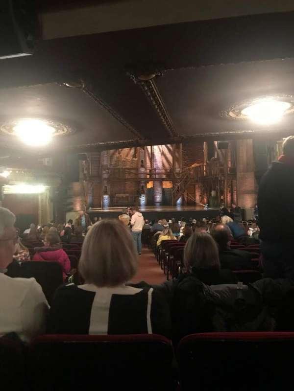 CIBC Theatre, vak: Orchestra LC, rij: Y, stoel: 101