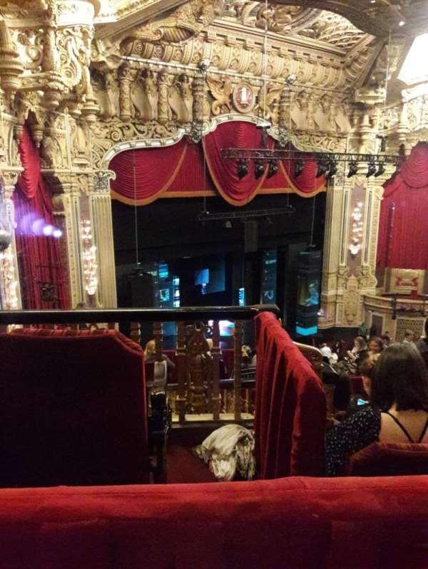 Nederlander Theatre (Chicago), vak: BalcFL, rij: L, stoel: 395