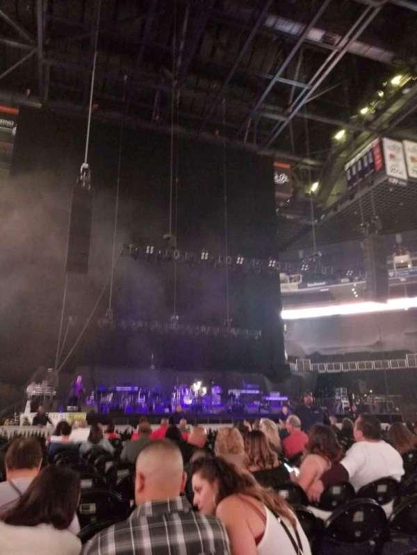 Talking Stick Resort Arena, vak: C, rij: 19, stoel: 8