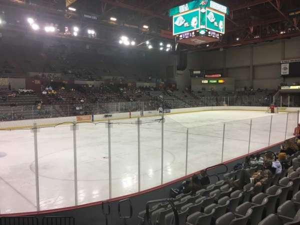Sullivan Arena, vak: 119, rij: 12, stoel: 2