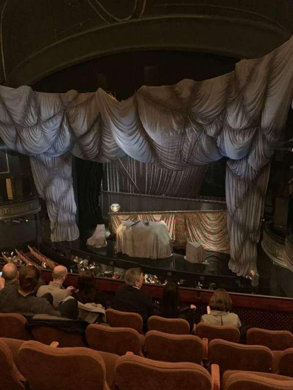 Majestic Theatre, vak: Front Mezzanine, rij: E, stoel: 16