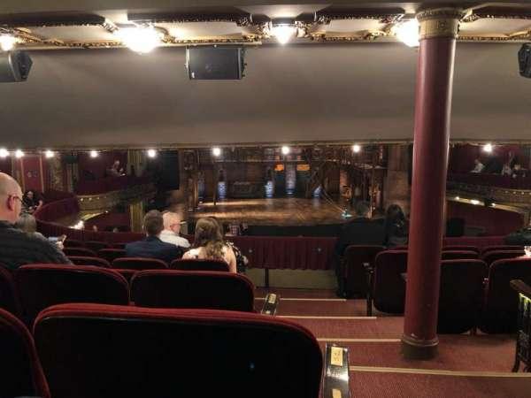 CIBC Theatre, vak: DCRC, rij: G, stoel: 221