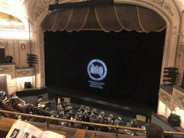 Merriam Theater, vak: Balcony, rij: C, stoel: 12