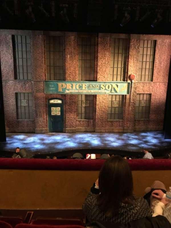 Al Hirschfeld Theatre, vak: MezzC, rij: C, stoel: 110