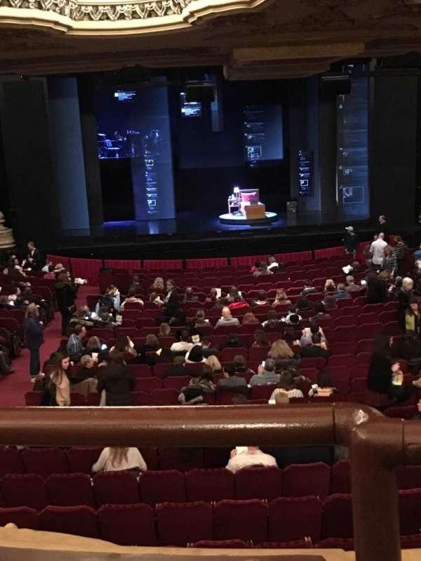 Nederlander Theatre (Chicago), vak: Dress Circle, rij: A, stoel: 202