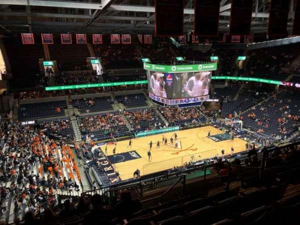 John Paul Jones Arena, vak: 315, rij: S, stoel: 6