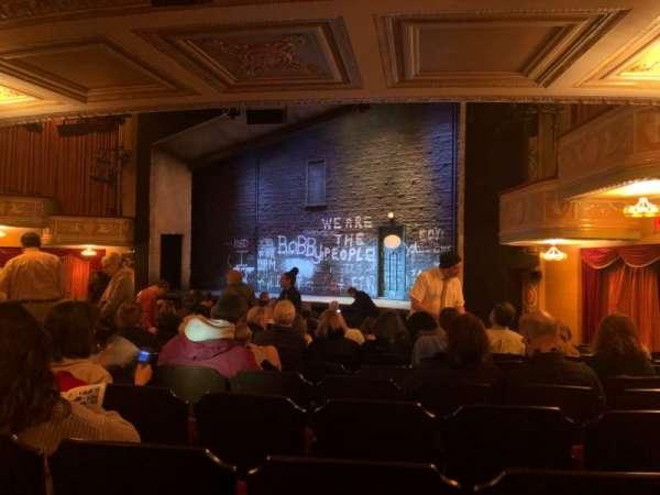 Bernard B. Jacobs Theatre, vak: Orch House R, rij: P, stoel: 22